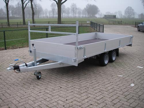 Plateauwagen 2700 kg model D