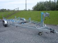 Boottrailer tendemasser 9 meter