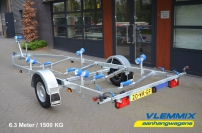 Vlemmix Boottrailer 1500 kg model B