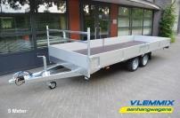 Plateauwagen 2700 kg model E