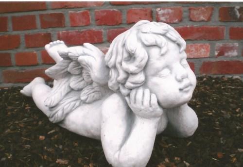 Liggende engel