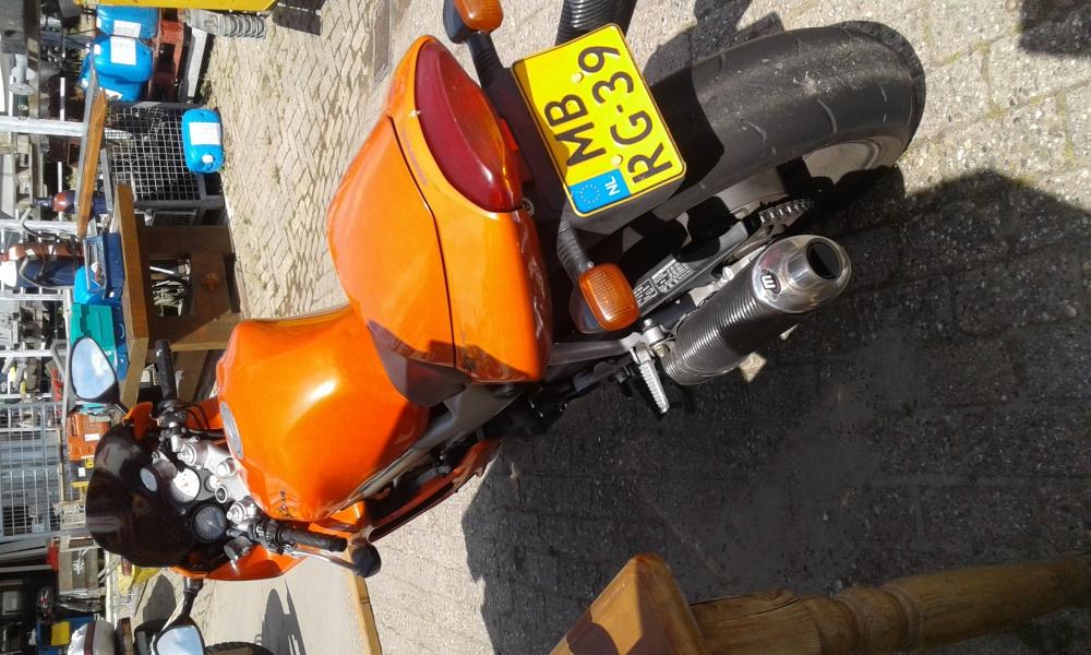 Honda motorfiets