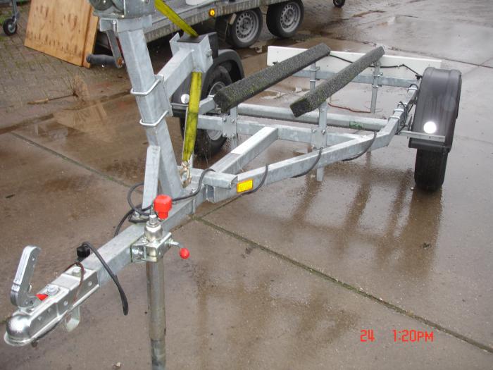 Jetski of rubberboottrailer